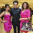 13 Swati Narayan, from left, and Ayeez and Shelena Lalji at the International Mother's Day Soiree May 2014