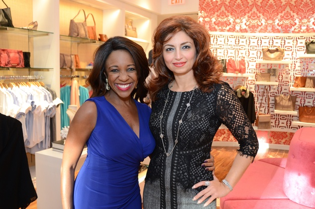 News, Shelby, Latin Women's Initiative party, Sept. 2015, Jacquie Baly, Mahzad Mohajer