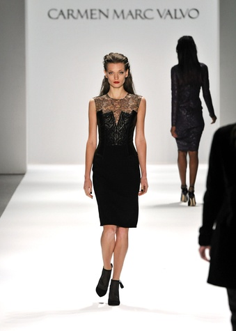 Carmen Marc Valvo, Mercedes-Benz Fashion Week, February 2013