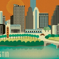 Austin Photo Set: News_Sam_Austin etsy_june 2012_austin skyline