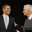 Photoshop controversy President Barack Obama and Florida Gov. Charlie Crist in 2009 January 2014