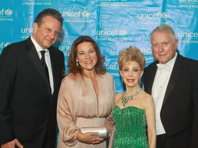 130 UNICEF Houston gala September 2013 Sean Hepburn Ferrer, from left Karin Hofer, Margaret Alkek Williams and Jim Daniel