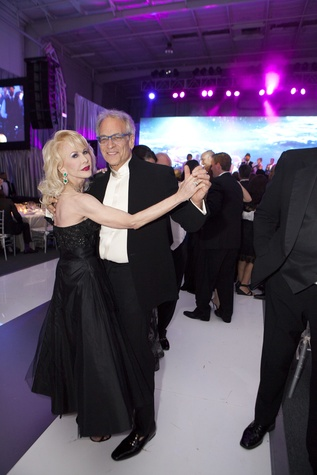 Diane Lokey Farb and Micky Rosmarin at the Alley Ball April 2014
