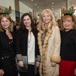 Cheryl Byington, from left, Sylvia Forsythe, Astrid Van Dyke and Karen Wildenstein at the Nutcracker Market Saks luncheon and fashion show November 2014