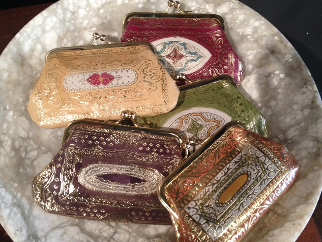 Mercury store coin purses in Austin shopping