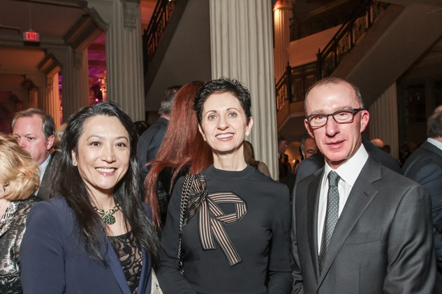 Nathalie Roff, Lilliane Nahas, Cesar Nahas at Club da Camera