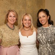 Kay Watson, from left, Annie Beck and Sylvie Crum at the Foundation for Teen Health luncheon October 2014