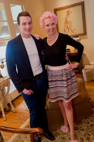 Houston, Vivian Wise and Peter Martino jewelry party, May 2015, Jonathan Blake, Vivian Wise