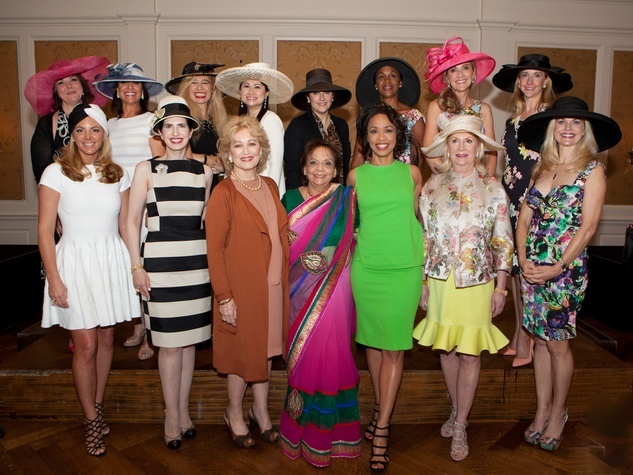Honorees at Hats Off to Mothers March 2014