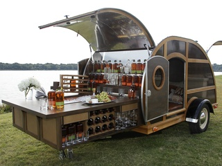 Bulleit Whiskey Trailer