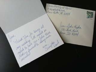 taking the pain out of wedding thank you notes new service handwri