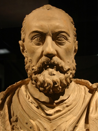 Houston Museum of Natural Science, Gems of Medici, MAN'S BUST, December 2012