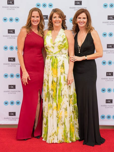 Ransom Center World of Wonders Gala 2017 Jennifer Kuczaj Margie Rine Kelly Cooper McClure