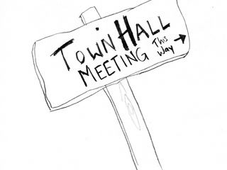 Austin Photo_Events_Town Hall Meeting_Poster