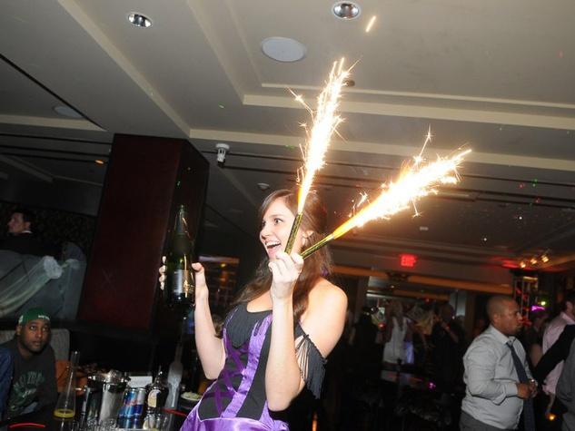 Hotel Zaza Party October 2017 Fireworks Champagne