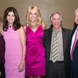 Marlee Matlin, from left, Melissa Preston, Carrie Hyman, Henry Winkler and Steve Sanders at the In the Pink luncheon in The Woodlands October 2013