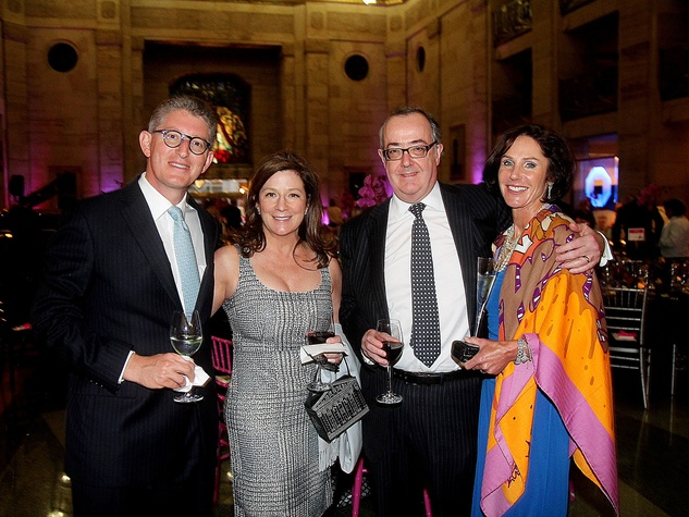 David Gerger, from left, Carolyn and Paul Landen and Heidi Gerger at the Da Camera Gala April 2014
