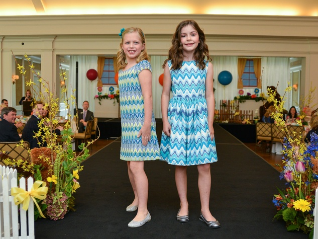 3 Houston Symphony children's fashion show April 2013 Ava Steely and Caroline Walker