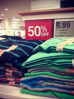 Deep discounts at Kohl's