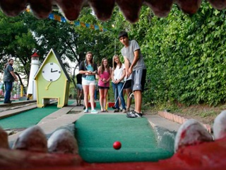 Austin Photo Set: Blythe_kids summer fun_june 2012_peter pan mini golf