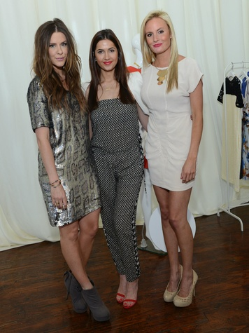 Courtney Kerr, Kellie Foster, Katie James, The Outnet