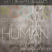"Eat Gallery's One Year Celebration & New Menu Exhibition ""Synesthesia"""
