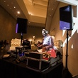 DJ Sun at the MFAH Mixed Media Party June 2014