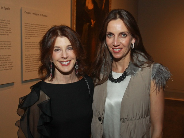 MFAH Portrait of Spain, December 2012, Barbara Gamson, Aliyya Stude