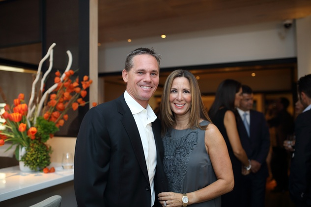 5 Craig and Patty Biggio at the BCN dinner for Texas Children's Hospital September 2014
