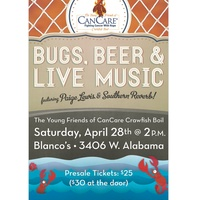 "Young Friends of CanCare Crawfish Boil ""Bugs, Beer & Live Music"""