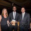 Kathrin Brunner, from left, Ben Crawford and Albert Pope at the Rice Design Alliance Gala November 2013