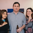 6 Marcy de Luna, from left, Mike Ricetti and Jennifer Howard at CultureMap's 2014 Tastemakers Awards May 2014