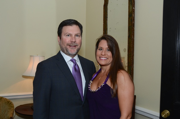 New, Shelby, Communities in School gala, April 2015, David and Lisa Sambrooks