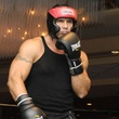 Jose Canseco in boxing gear