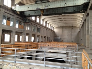 Seaholm Power Plant interior