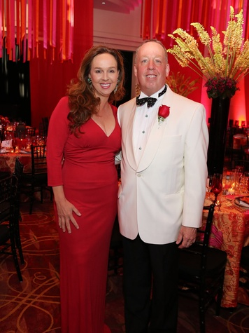 221 Houston SPA gala April 2013 Julie Brown and Dr. David Brown