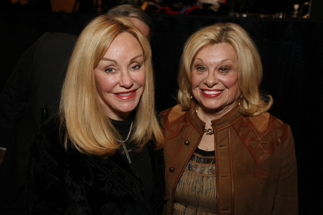 38 Judi McGee, left, and Sidney Faust at An Evening with a Legend February 2015