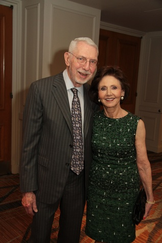 Melvyn and Cyvia Wolff at the Houston Living Legend fundraiser dinner May 2014