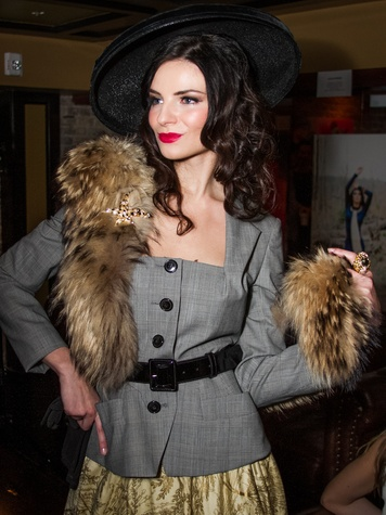 FashionXAustin Austin Fashion Week Kickoff 2015 at Speakeasy 1940s Look by Edie Henry