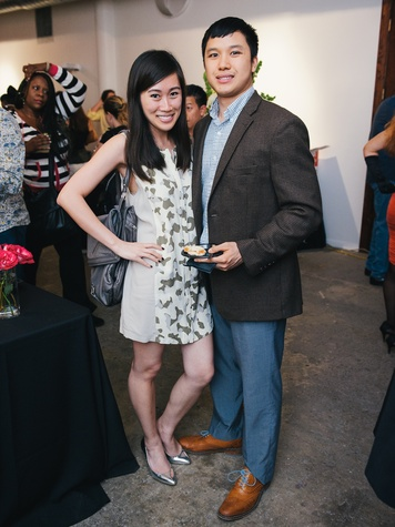 16 Thuy Pham and Ricky Tiet at CultureMap's 2014 Tastemakers Awards May 2014