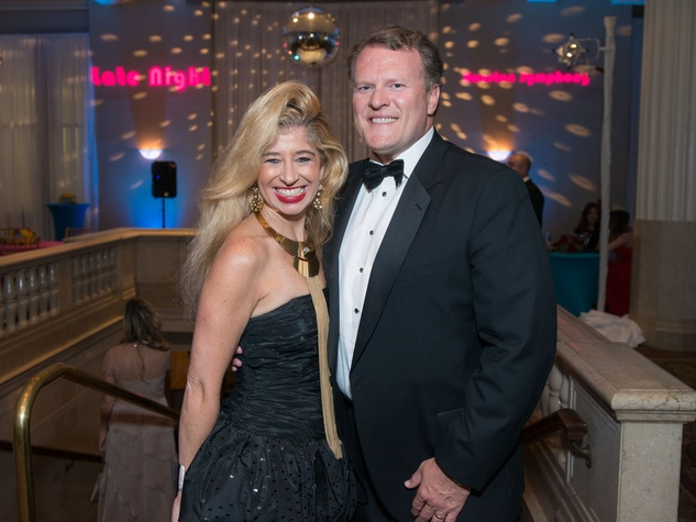 37 Sofia Adrogue and Sten Gustafson at Houston Symphony Opening Night Gala September 2014