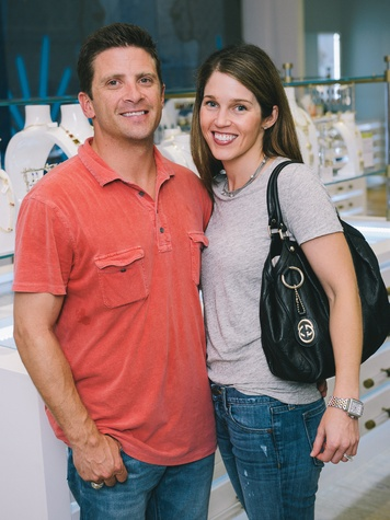 9 Dine Around Houston at Kendra Scott September 2013 Tommy Connally, Jodie Connally