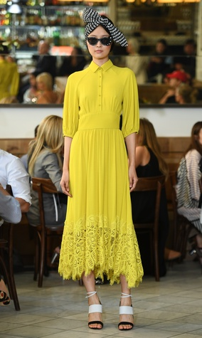 Lela Rose spring 2017 collection look 10