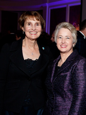 Blue Bird Circle gala, October 2012, Gina Saour, Mayor Annise Parker