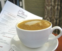 Ellen's Southern Kitchen latte