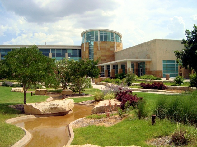 City of Allen civic plaza