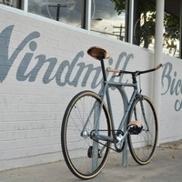 Windmill Bicycles entrance sign