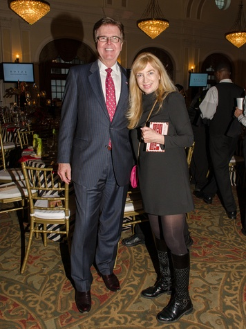 5 Dan Patrick and Melissa Jacobs at the Be An Angel Gala May 2014
