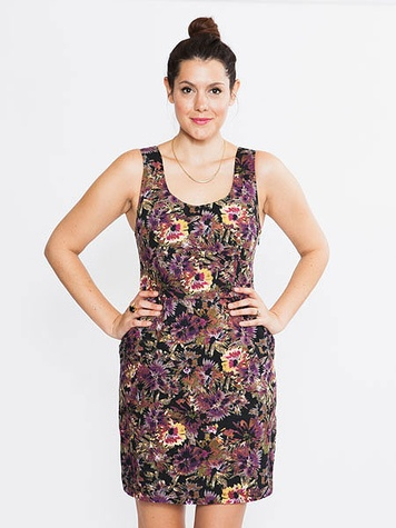 bloom dresden floral dress