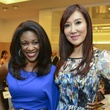 18 Jacqueline Baly, left, and Mandy Kao at the International Mother's Day Soiree May 2014